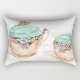 Sugar and Creamer Rectangular Pillow