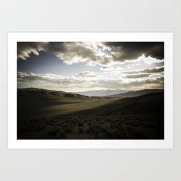Wildrose Valley Art Print