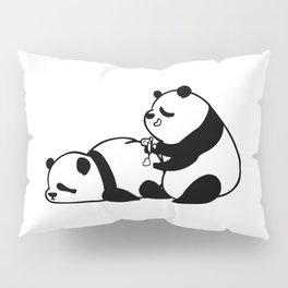 Love Hurts Panda Pillow Sham