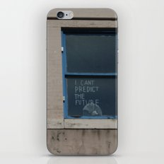I Can't Predict The Future iPhone & iPod Skin