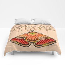 tree moth (ORIGINAL SOLD). Comforters