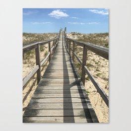 Dune Rd, Westhampton Beach, NY  Canvas Print