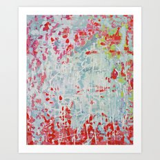 Smell of Rain Art Print