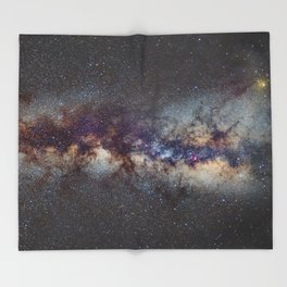 The Milky Way: from Scorpio and Antares to Perseus Throw Blanket