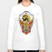 golden Long Sleeve T-shirts featuring Golden by Tshirt-Factory