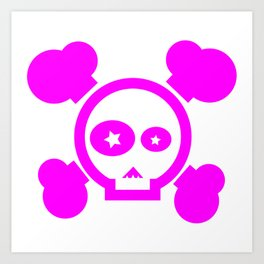 Skull Pop! Art Print