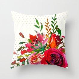 Flowers bouquet #37 Throw Pillow