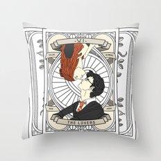 Harry Potter Tarot Throw Pillow