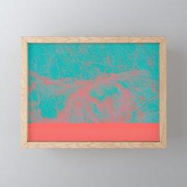 underwater Framed Mini Art Print