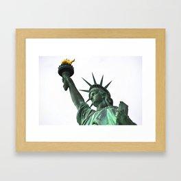 The Torch Bearer Framed Art Print
