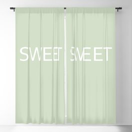 Sweet seagrass Blackout Curtain