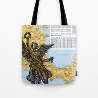 mexico Tote Bags featuring Mexico  by Ursula Rodgers