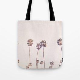 Sunny Cali Palm Trees Tote Bag