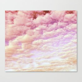 Cotton Candy Sky Canvas Print