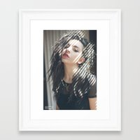 charli xcx Framed Art Prints featuring Superlove ~ Charli XCX by Michelle Rosario