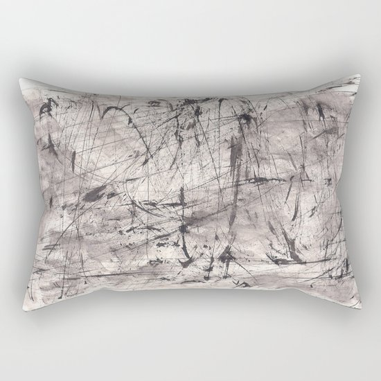 Zen Ink 7 Rectangular Pillow