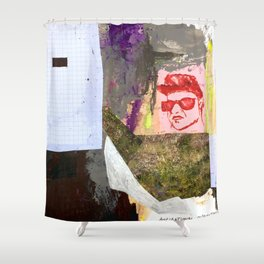 Key Component (Aspirational Disfunction) Shower Curtain