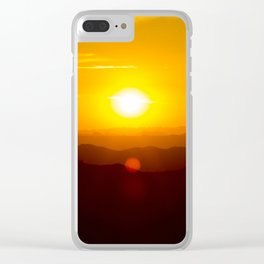 Arizona Sunset Clear iPhone Case