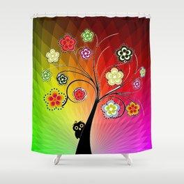 Healing Chakra Tree Shower Curtain