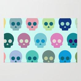 Colorful Skull Cute Pattern Rug