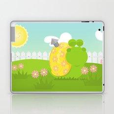 Green Snail (male) Laptop & iPad Skin