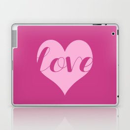 Love in a heart  Laptop & iPad Skin