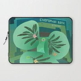 Chlorofyll Bank Station Laptop Sleeve
