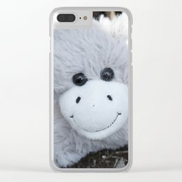 So Very Happy Clear iPhone Case