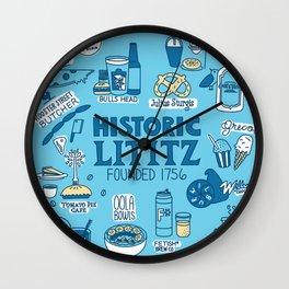 Lititz Fare Wall Clock