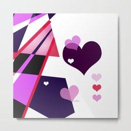 Single Track to Love 2 Metal Print