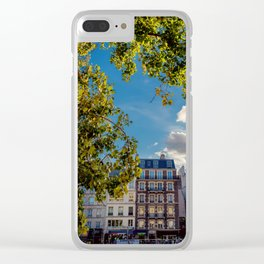 Paris views, France Clear iPhone Case