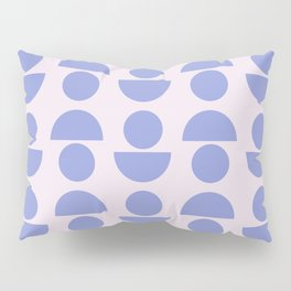 Shapes in Periwinkle Pillow Sham