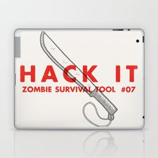 Hack it - Zombie Survival Tools Laptop & iPad Skin