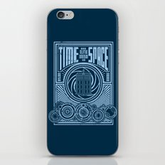 Time and Space iPhone & iPod Skin