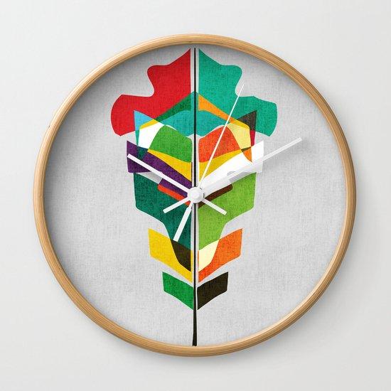 Before the last leaf falls Wall Clock
