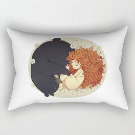 Quiet ( Brave ) Rectangular Pillow