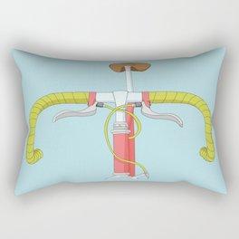 Cool vintage bicycle Rectangular Pillow