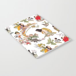 China Cabinet Toss Notebook