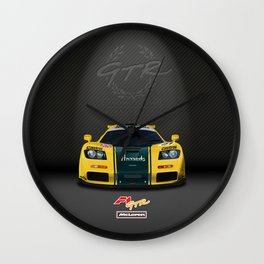 1995 McLaren F1 GTR Le Mans - Harrods Livery Wall Clock