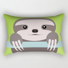 Sloth Baby Rectangular Pillow