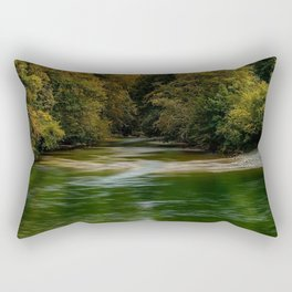 Wood River, Arcadia - West Greenwich, Rhode Island Rectangular Pillow