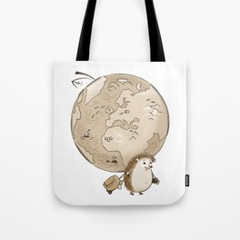 Always ready to travel:) Tote Bag