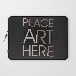 The Art Placeholder Laptop Sleeve