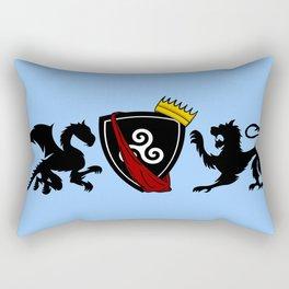 Merlin (Merthur) Crest Rectangular Pillow