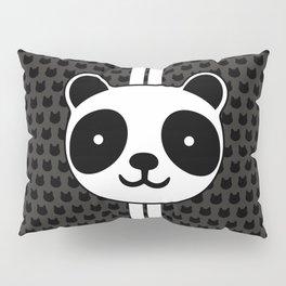 Racing Panda Pillow Sham