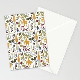 Magical garden vegetables with mandrake. Stationery Cards