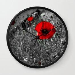 In rememberance Wall Clock