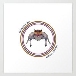 Regal Jumper Art Print