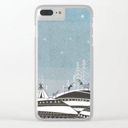 Sami Night Clear iPhone Case