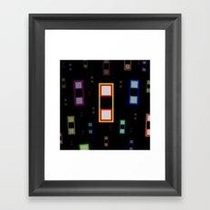2, or Two Framed Art Print